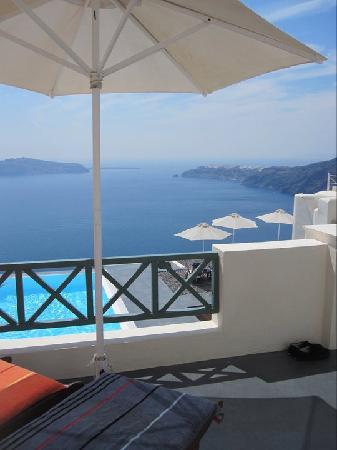 أناستاسيس آبارتمنتس: View from our room :)