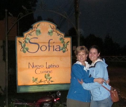 Sofia Restaurant: Off the main road a block, great food