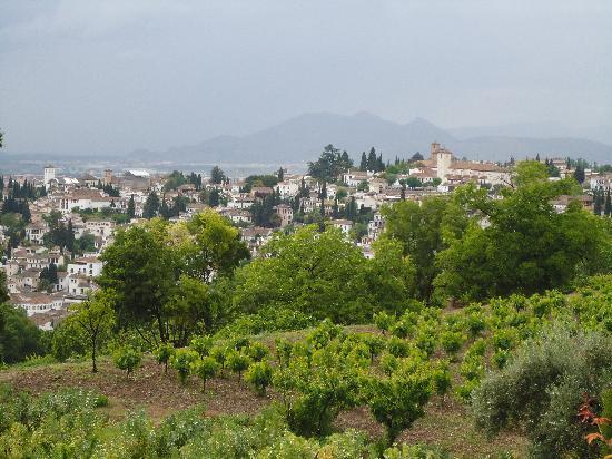 Abades Nevada Palace: Vistas desde la Alhambra