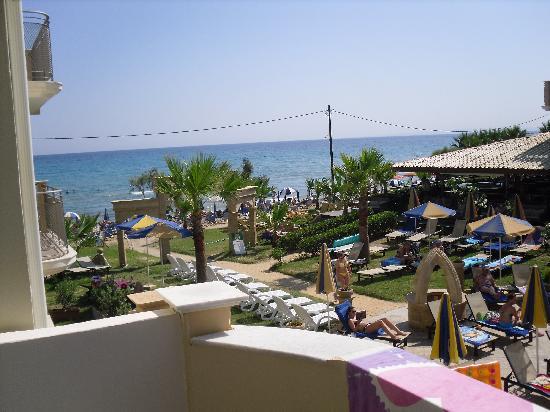 Zante Maris Hotel: veiw