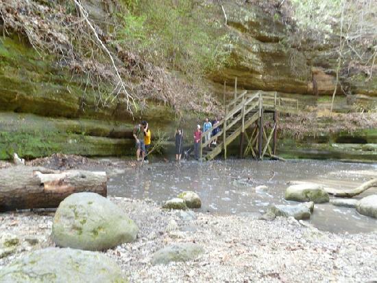 Matthiessen State Park: Lower Dells