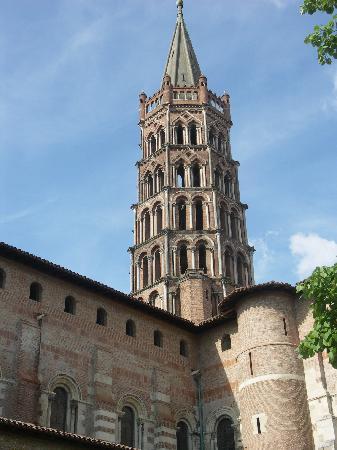 Basilique Saint-Sernin: basilica romanica de st sernin