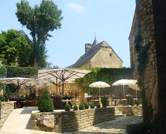 Restaurant Le Chateau: la terrasse