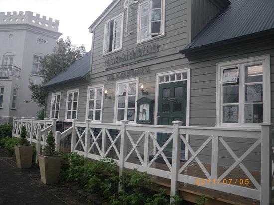 Reykjavik: Humarhusid (The Lobster House):