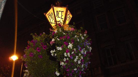 The Palace: beautiful lanterns