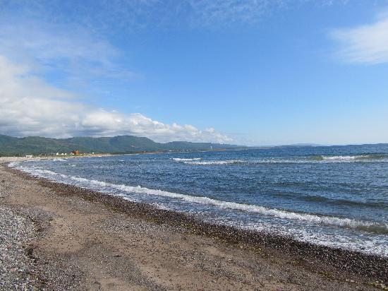 Cheticamp Island Resort : Nearby beach