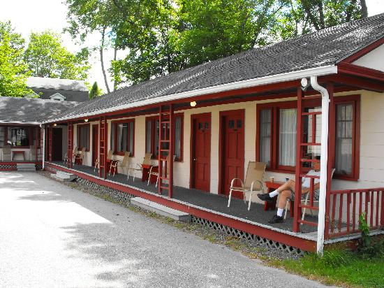 Bar Harbor Villager Motel: location, location, location