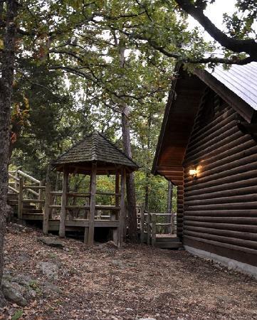 Cherokee Mountain Luxury Log Cabins: Gazeebo