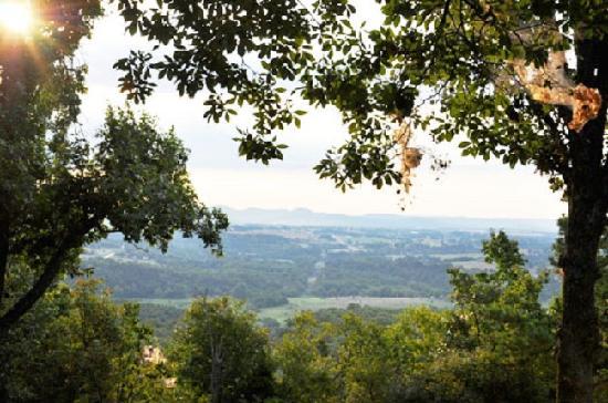 Cherokee Mountain Luxury Log Cabins: Mountain View