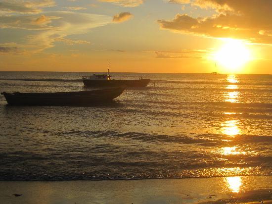 جيريكوكوارا: Pôr do sol
