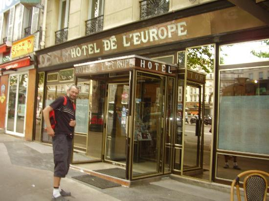 Grand Hotel de l'Europe : entrance