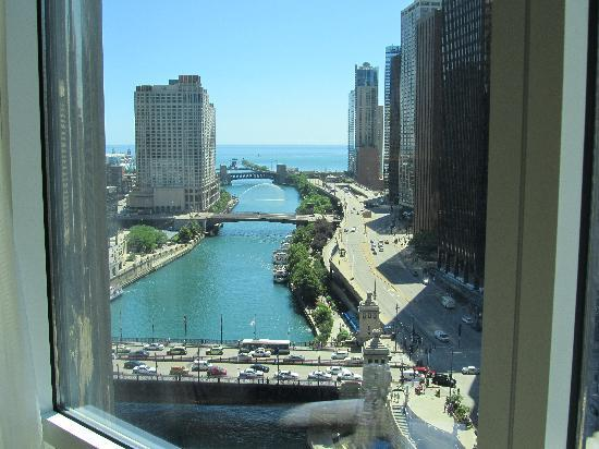 Trump International Hotel & Tower Chicago: fantastic view!