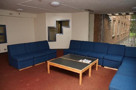Pacific Spirit Hostel at UBC : Common Room in Dorm (main floor)