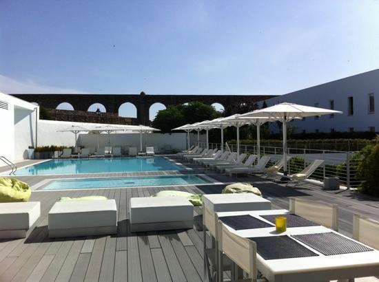 M'Ar De Ar Aqueduto: piscina