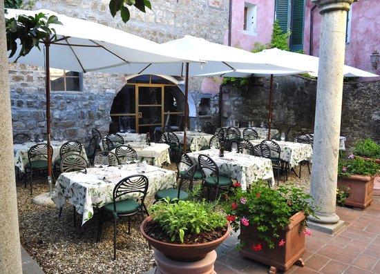 Panzano in Chianti, Italia: il giardino