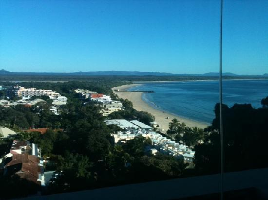 No. 1 in Hastings Street: Noosa morning: View from bed