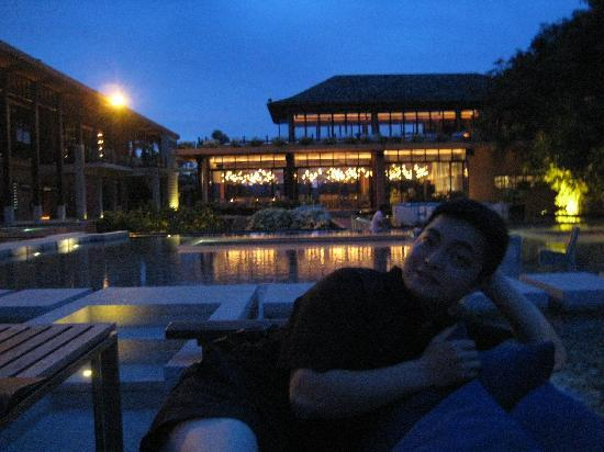 Sri Panwa Phuket Luxury Pool Villa Hotel: baba dinner