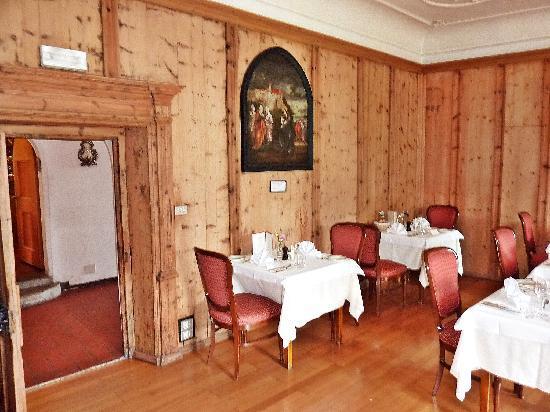 Hotel Schloss Sonnenburg: Eine der Gaststuben