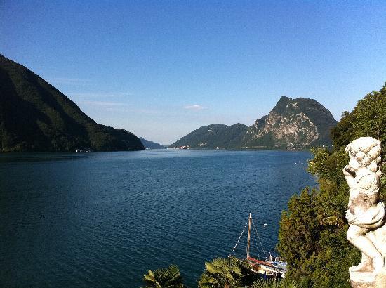 Hotel Elvezia al Lago: Aussicht aus der Suite