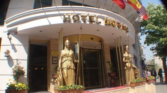 هوتل موزايك: Entreé van hotel Mosaic