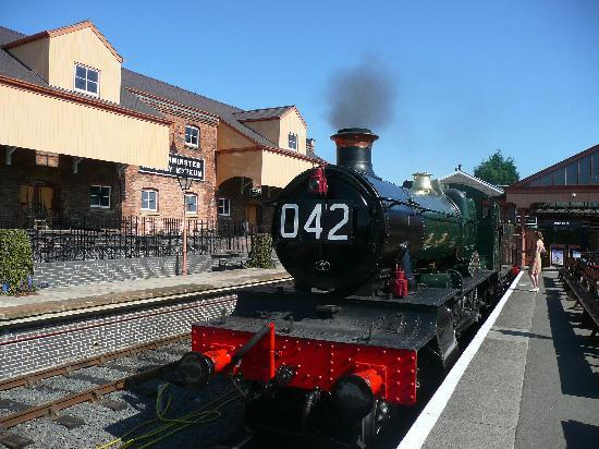 Kidderminster, UK: 40s weekend train