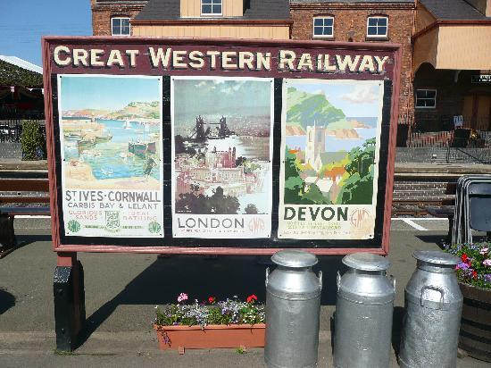 Kidderminster, UK: Great Western Railway poster