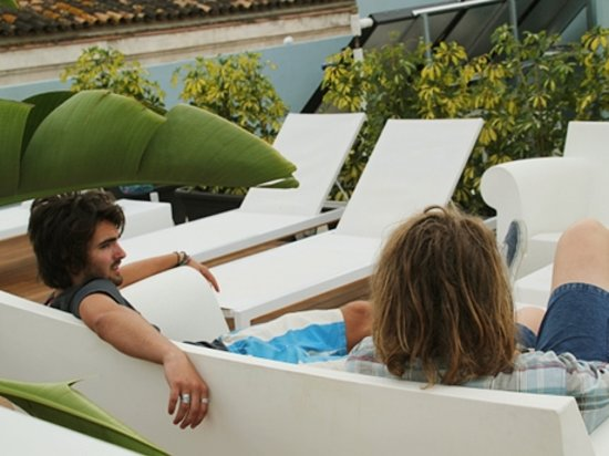 Oasis Backpackers' Hostel Malaga: Oasis Backpackers Malaga relax total