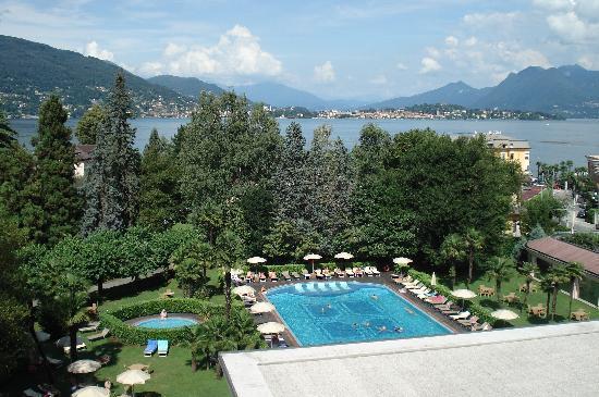Hotel Simplon: vue de la chambre