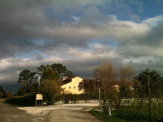 Agriturismo Cascina Boschi: dopo un bel temporale d'agosto