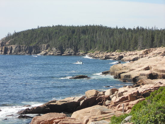 Acadia National Park's Hulls Cove Visitors Center