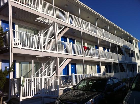 Dewey Beach, DE: motel