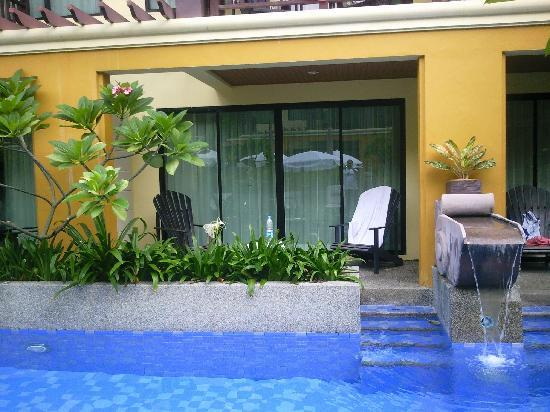 Diamond Cottage Resort & Spa: Pool access room