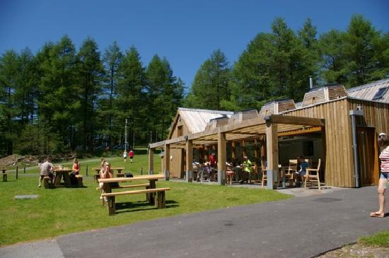 Garwnant Visitor Centre: Garwnant 'Y Teras Restaurant'.