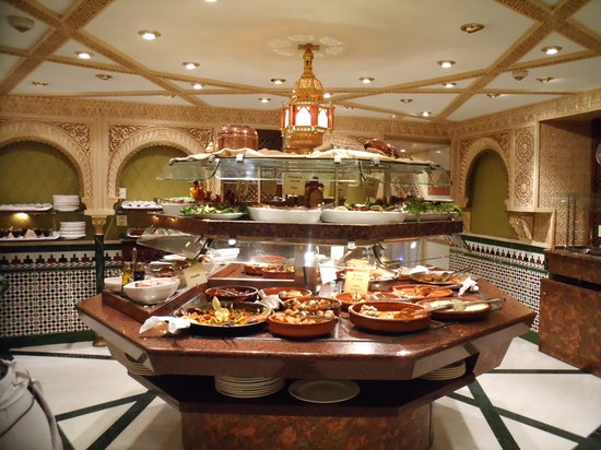 Tablao Cordobes : Part of the Buffet