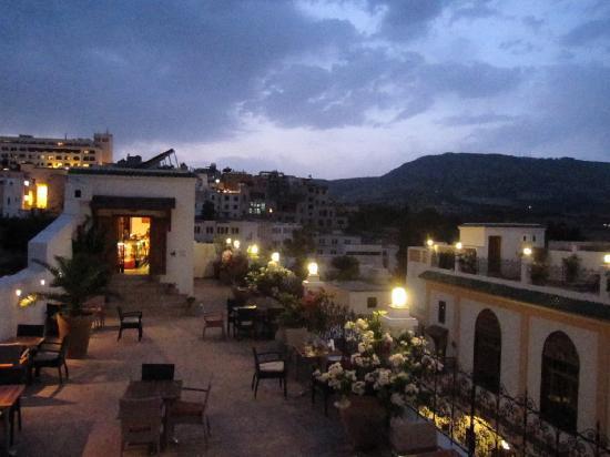 Palais Amani: rooftop terrace