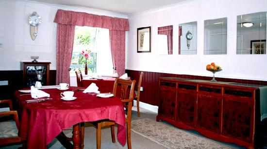 Cherrytrees Bed and Breakfast: Dining Room