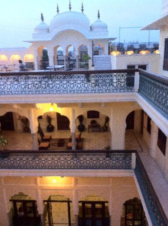 Khandela Haveli: la terrasse