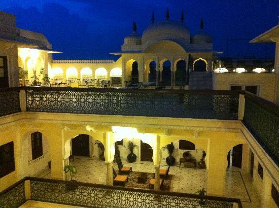 Khandela Haveli: vue du dernier étage