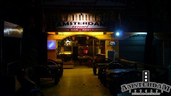 Cafe Amsterdam Koh Chang: Amsterdam by Night
