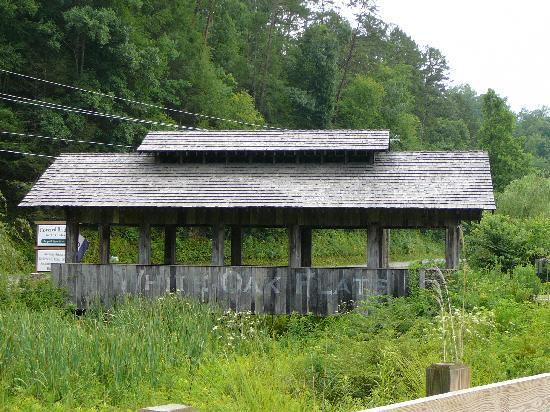 Side view of the Covered Bridge in the Glades