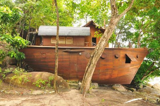 Bagus Place Retreat: Boat house