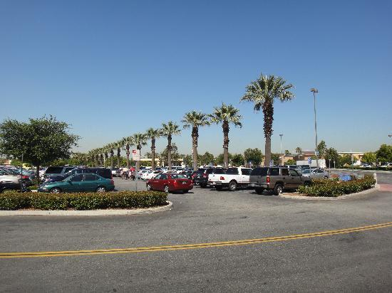 Ayres Hotel Ontario Mills Mall Parking Viewed From