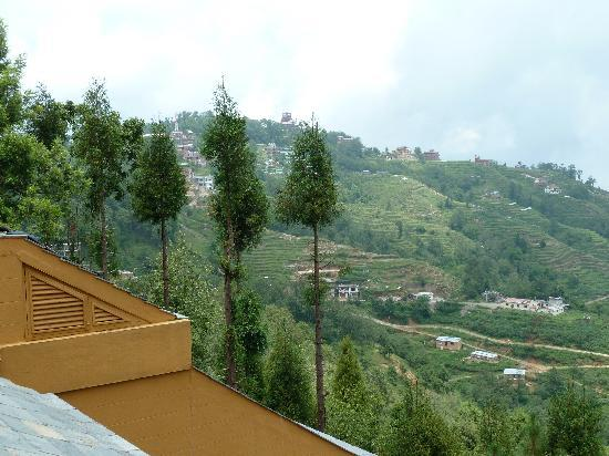 Club Himalaya Resort: view from the terrace