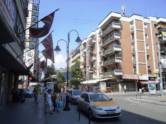 Skopje, جمهورية مقدونيا: Skopje Downtown