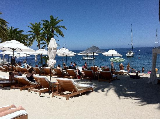 Descanso Beach Club: View from our chair