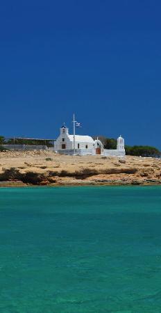 Posidonion Hotel: Small church in kato Koufonisi