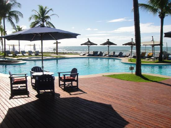 Arraial D'Ajuda Eco Resort: View from my breakfast table
