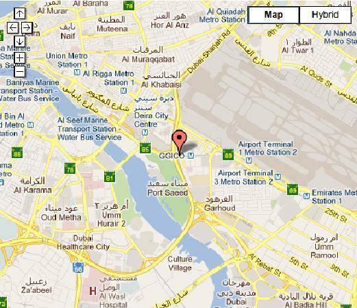map Picture of Fuddruckers Dubai TripAdvisor