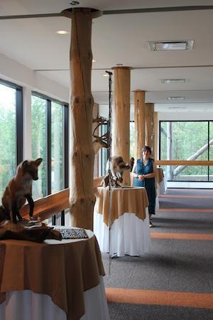 Hôtel-Musée Premières Nations: La faune est présente.