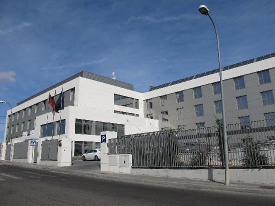 Eurostars Arenas de Pinto: Building